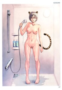 Rating: Explicit Score: 29 Tags: animal_ears azasuke bathing censored megane naked nipples pubic_hair pussy tail toranoana wet User: abcdefh