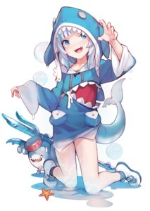 Rating: Safe Score: 16 Tags: ataruman gawr_gura hololive hololive_english see_through tail weapon wet User: Dreista