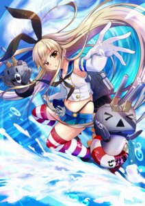 Rating: Safe Score: 43 Tags: kantai_collection rensouhou-chan sesield shimakaze_(kancolle) thighhighs thong User: Mr_GT