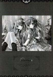 Rating: Safe Score: 6 Tags: lolita_fashion monochrome pantsu tinkle User: admin2