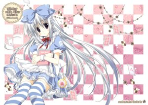 Rating: Safe Score: 43 Tags: alice_(korie_riko) dress korie_riko lolita_fashion thighhighs User: fairyren