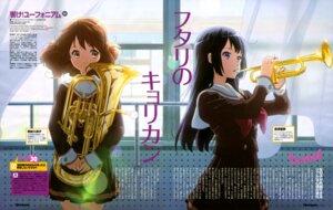 Rating: Safe Score: 37 Tags: hibike!_euphonium ikeda_shouko kousaka_reina oumae_kumiko seifuku User: drop