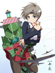 Rating: Safe Score: 27 Tags: chitose_(kancolle) kantai_collection pantyhose seifuku shira-nyoro User: K@tsu