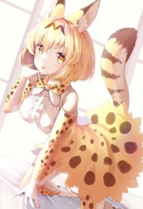 Rating: Safe Score: 12 Tags: animal_ears animal_ears_(artist) kemono_friends serval tail User: Mr_GT