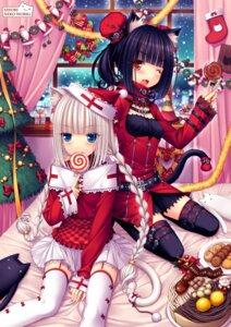 Rating: Safe Score: 85 Tags: animal_ears chocola lolita_fashion nekomimi sayori vanilla User: van