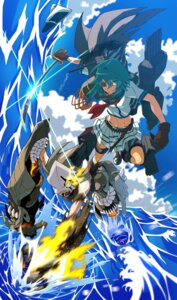 Rating: Safe Score: 6 Tags: chi-class_torpedo_cruiser eyepatch kantai_collection kiso_(kancolle) rinta sword User: Mr_GT