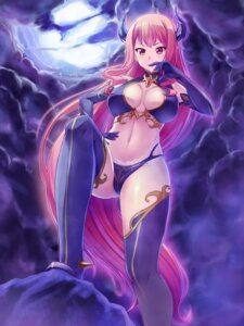Rating: Questionable Score: 54 Tags: cleavage devil fujirin horns thighhighs User: fairyren