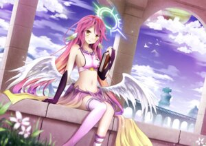 Rating: Safe Score: 103 Tags: asakurashinji jibril_(no_game_no_life) no_game_no_life wings User: tbchyu001
