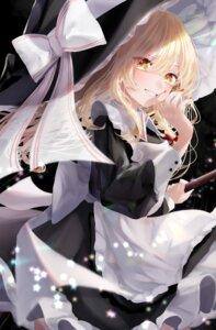 Rating: Safe Score: 31 Tags: kirisame_marisa skirt_lift touhou witch yukia_(yukia_777) User: BattlequeenYume