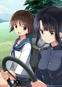 Rating: Safe Score: 16 Tags: hattori_shizuka miyafuji_yoshika seifuku strike_witches tagme uniform User: saemonnokami