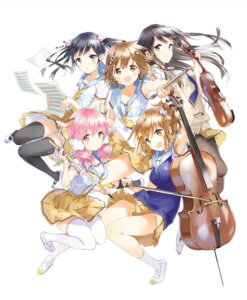 Rating: Safe Score: 36 Tags: aihara_chika enoshima_noriko komori_quintet! koyori_okumura pantyhose seifuku tamao_ijuuin thighhighs tiv uehara_sumire User: DarkRoseofHell