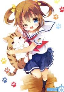 Rating: Safe Score: 40 Tags: high_school_fleet isoroku misaki_akeno natsuki_yuu neko seifuku User: Twinsenzw