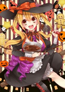 Rating: Safe Score: 23 Tags: bloomers dress gothic_lolita halloween lolita_fashion minami_chasaki witch User: mash