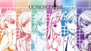 Rating: Safe Score: 9 Tags: aida_yuu angelica claes gunslinger_girl henrietta_(gunslinger_girl) petrushka rico_(gunslinger_girl) shiori triela wallpaper User: sorano
