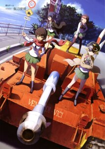 Rating: Safe Score: 25 Tags: caesar erwin girls_und_panzer iinuma_toshinori megane oryou_(girls_und_panzer) saemonza seifuku sweater thighhighs User: drop
