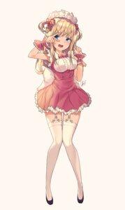 Rating: Safe Score: 65 Tags: maid stockings tagme thighhighs User: saemonnokami