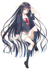 Rating: Safe Score: 81 Tags: mizuki_shigeko-san_to_musubaremashita namanie seifuku thighhighs User: fairyren