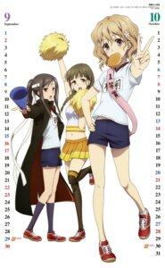 Rating: Safe Score: 38 Tags: calendar cheerleader gym_uniform hanasaku_iroha itou_eriko matsumae_ohana oshimizu_nako thighhighs tsurugi_minko User: charunetra