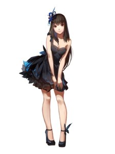 Rating: Safe Score: 41 Tags: cleavage dress heels red_flowers User: charunetra