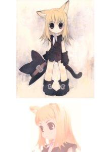Rating: Safe Score: 10 Tags: animal_ears tail tanaka_kunihiko User: Riven