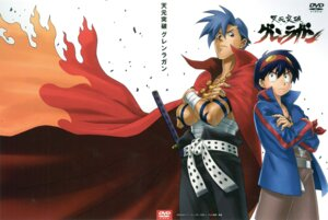 Rating: Safe Score: 10 Tags: kamina male scanning_dust screening simon tengen_toppa_gurren_lagann User: devastatorprime