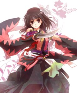 Rating: Safe Score: 23 Tags: hakuouki japanese_clothes samako sword yukimura_chizuru User: Radioactive