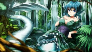 Rating: Questionable Score: 43 Tags: cleavage mermaid notsugimi touhou wakasagihime User: Mr_GT