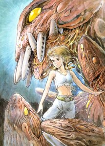 Rating: Safe Score: 10 Tags: kaze_no_tani_no_nausicaa nausicaa User: Radioactive