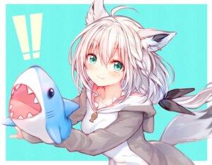 Rating: Questionable Score: 33 Tags: animal_ears hololive shirakami_fubuki sukemyon tail User: Dreista