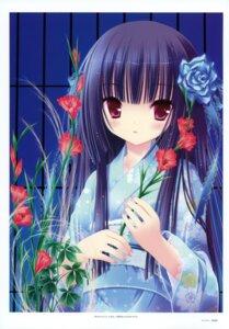 Rating: Safe Score: 45 Tags: harukaze_setsuna kimono tinkle User: crim