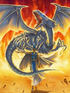Rating: Safe Score: 5 Tags: asai_yuichi blue_eyes_white_dragon kaiba_seto male yugioh User: charunetra