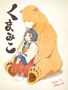 Rating: Safe Score: 24 Tags: amayadori_machi chama_kou kumai_natsu kumamiko miko User: saemonnokami
