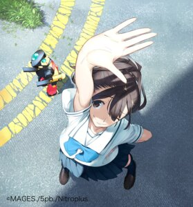 Rating: Safe Score: 36 Tags: fukuda_tomonori nitroplus robotics;notes scanning_artifacts seifuku senomiya_akiho User: lcx2475