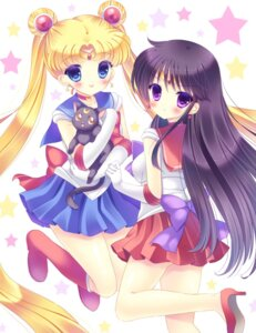 Rating: Safe Score: 30 Tags: hino_rei kouta. luna_(sailor_moon) neko sailor_moon seifuku tsukino_usagi User: blooregardo