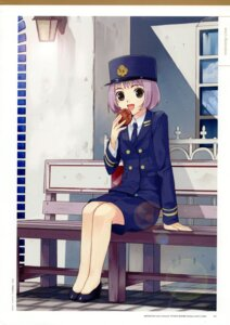 Rating: Safe Score: 5 Tags: mibu_natsuki police_uniform tetsudou_musume togawa_tsukushi User: fireattack