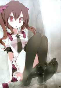 Rating: Explicit Score: 58 Tags: cum feet himekaidou_hatate oouso thighhighs touhou User: weaboss