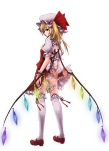 Rating: Questionable Score: 31 Tags: flandre_scarlet pantsu touhou utakata User: yumichi-sama