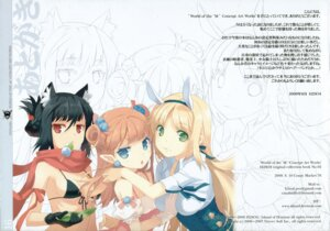 Rating: Safe Score: 17 Tags: animal_ears bikini_top bunny_ears h2so4 island_of_horizon nekomimi User: Share