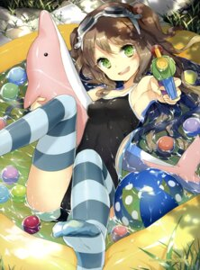 Rating: Questionable Score: 122 Tags: cuteg feet swimsuits thighhighs wet User: SubaruSumeragi