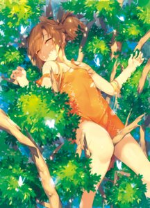 Rating: Safe Score: 62 Tags: animal_ears dress katou_itsuwa torn_clothes User: Mr_GT