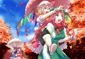 Rating: Safe Score: 15 Tags: flandre_scarlet hong_meiling izayoi_sakuya kinsenka remilia_scarlet touhou User: Mr_GT