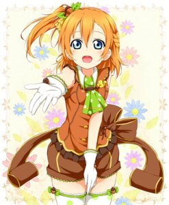 Rating: Safe Score: 45 Tags: karamone-ze kousaka_honoka love_live! thighhighs User: 椎名深夏