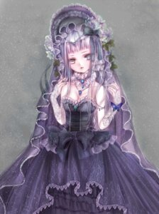 Rating: Safe Score: 25 Tags: cleavage dress gothic_lolita heterochromia hime_murasaki lolita_fashion User: charunetra