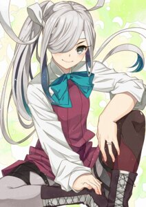 Rating: Safe Score: 31 Tags: asashimo_(kancolle) kanmiya_shinobu kantai_collection pantyhose seifuku User: Mr_GT