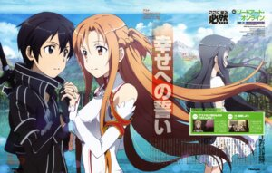 Rating: Safe Score: 24 Tags: asuna_(sword_art_online) kirito sword_art_online toya_kento yui_(sword_art_online) User: PPV10
