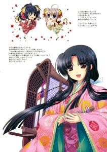 Rating: Safe Score: 6 Tags: chibi higa_yukari kimono User: Hatsukoi