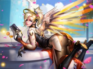 Rating: Safe Score: 76 Tags: ass bodysuit detexted gun heels liang_xing mercy_(overwatch) overwatch wings User: mash