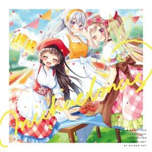 Rating: Safe Score: 6 Tags: elf elu_(nijisanji) higuchi_kaede hinano nijisanji pointy_ears tsukino_mito User: lounger