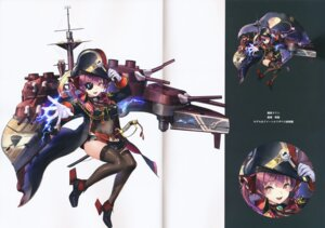 Rating: Safe Score: 13 Tags: akasa_ai crease eyepatch fixme heels heterochromia hololive houshou_marine pirate see_through sword thighhighs uniform User: DDD