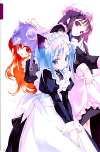 Rating: Safe Score: 9 Tags: animal_ears maid nekomimi sumi_keiichi User: Radioactive